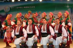 BTA-Bulgarian folklore dancers