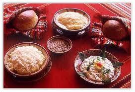 Bulgarian Food Table